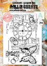 AALL and Create Clear A4 Stamp Set #143 - Times Flies by Tracy Evans